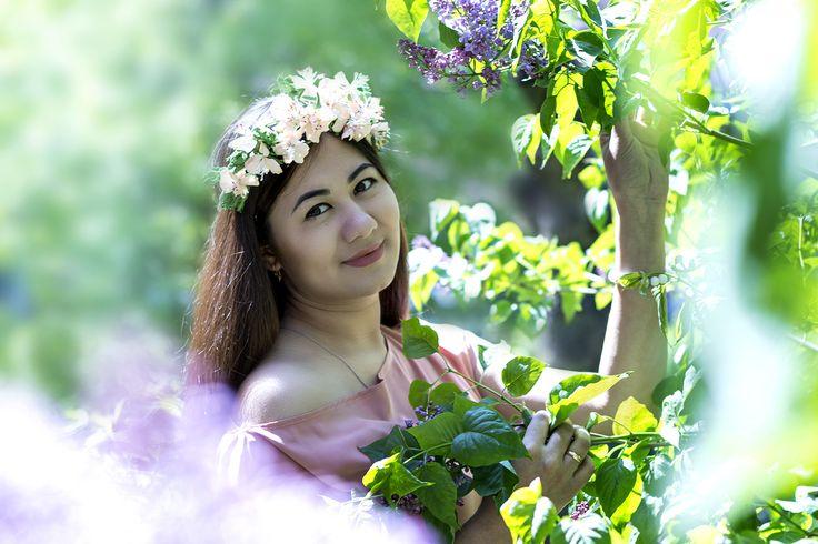 Весенняя фотосессия Фотограф Вера Сидорина Фотография на природе Цветы фотография