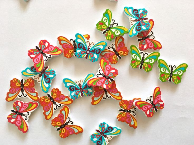 A personal favorite from my Etsy shop https://www.etsy.com/listing/514810202/5-butterfly-shaped-buttons-butterfly