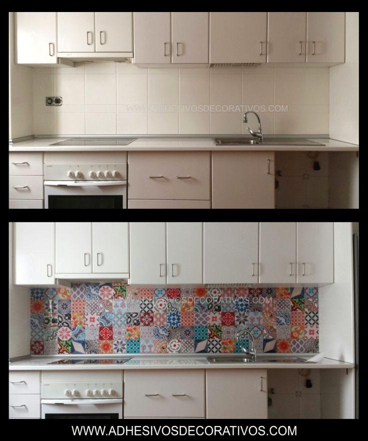 Ver azulejos para cocina encuentra este pin y muchos ms for Baldosas adhesivas cocina