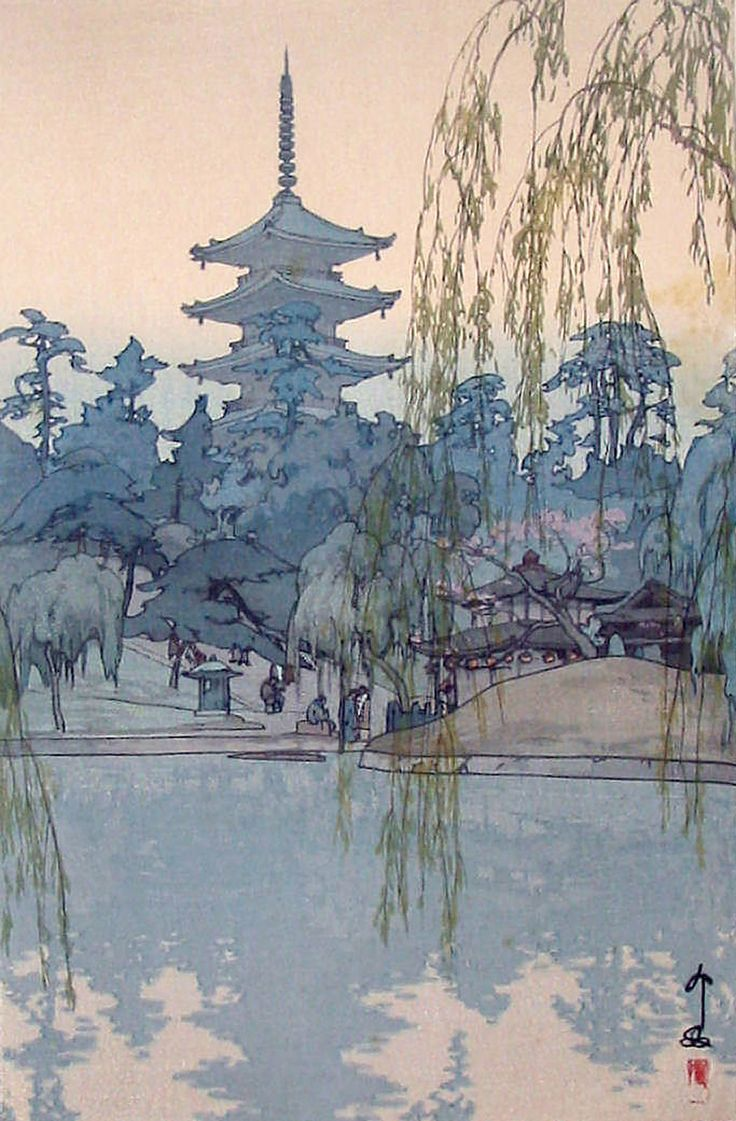 archatlas:     The Art of Hiroshi Yoshida        Hiroshi Yoshidawas a 20th-century Japanese painter and woodblock printmaker. He is regarded as one of the greatest artists of the shin-hanga style, and is noted especially for his excellent landscape prints. Yoshida travelled widely, and was particularly known for his images of non-Japanese subjects done in traditional Japanese woodblock style.      (via archatlas)