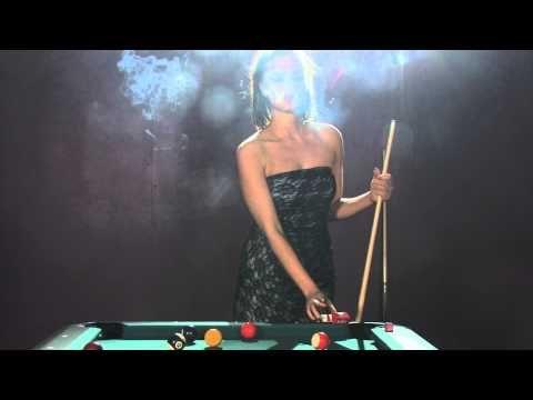 Sarah chain smokes Marlboro reds while playing pool - 27th May 2013
