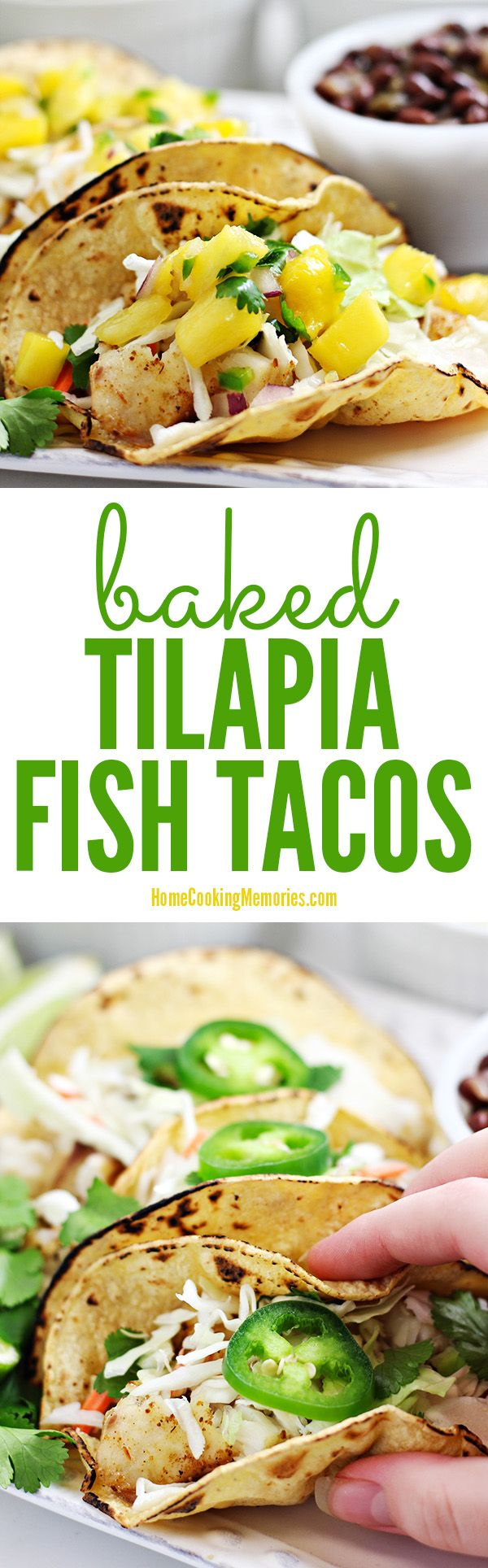 100 baked tilapia recipes on pinterest healthy tilapia for Simple fish taco recipe