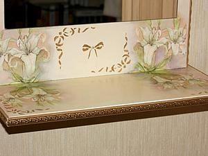 Новая жизнь старого зеркала: преображение с помощью декупажа - Ярмарка Мастеров - ручная работа, handmade