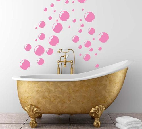 Bubbles Wall Decals - Trading Phrases