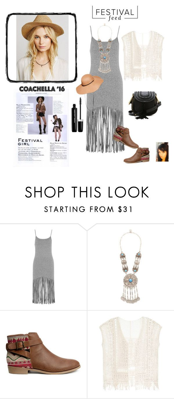 """""""Festival"""" by gaya-vas ❤ liked on Polyvore featuring Topshop, Turkish Delight, H&M and Marc Jacobs"""