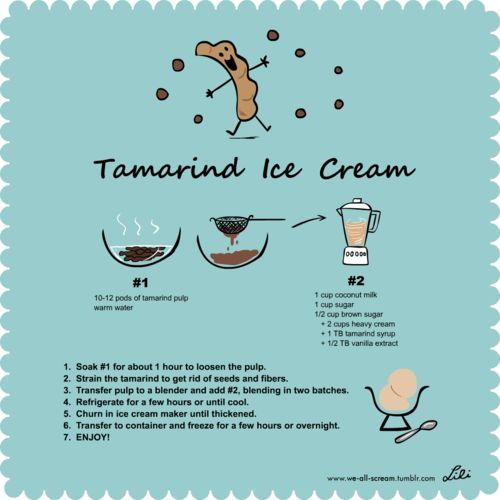 Tamarind Ice Cream by We All Scream