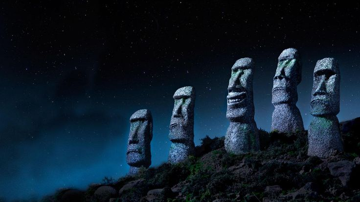 Bing Images - Easter Island Smiles