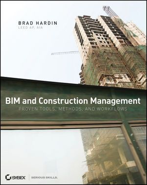 BIM BOOKS - Book Cover Image for BIM and Construction Management: Proven Tools, Methods, and Workflows