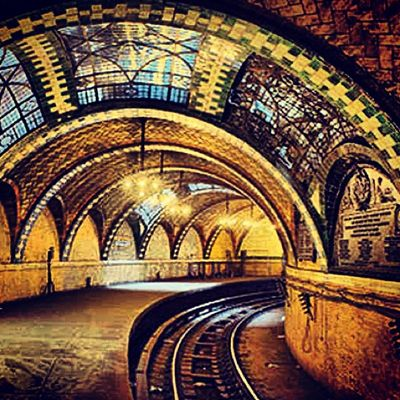 Old City Hall Station: If you stay on the 6 train going downtown, you'll loop around through the Old City Hall Station. Known otherwise as the Ghost Station, the 1920's throwback is rarely seen.