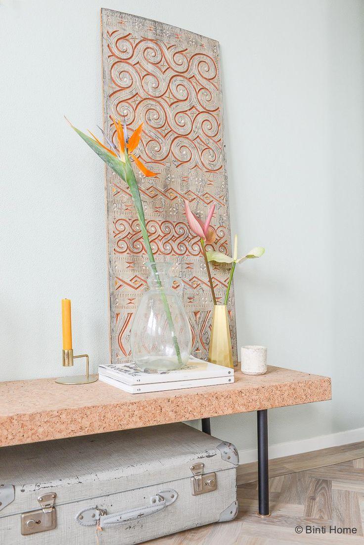 Styling met Exotische bloemen voor tropische sfeer in huis in de herfst ©BintiHome @mooiwatbloemendoen