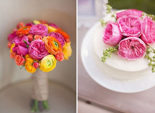 wedding flowers | the cabbage rose