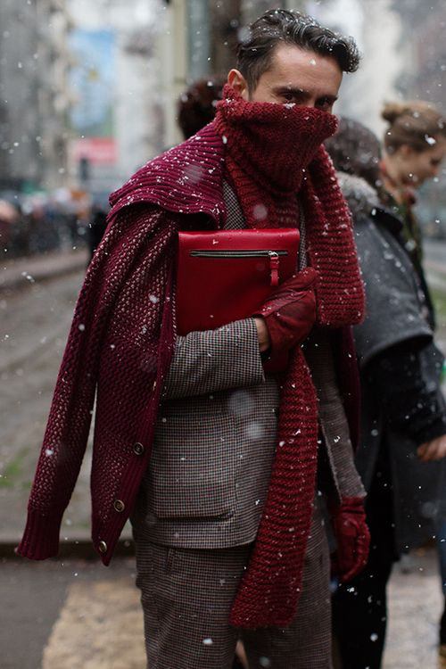 rcgnze style // spotted on the street // milan // the sartorialist // in the storm at dolce & gabbana // men's fashion