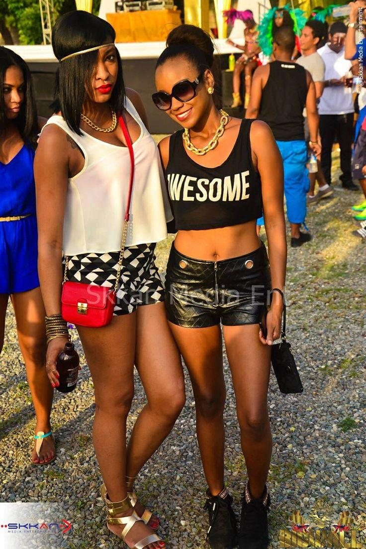 Jamaican Party Fashion ジャマイカ #ジャマイカ人のパーティー中毒 #アイランドパーティー