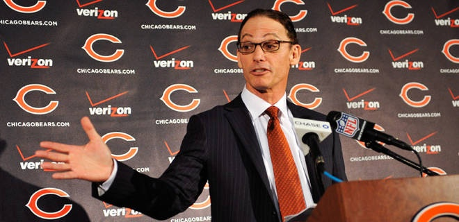 Marc Trestman discusses his role as new Chicago Bears coach.
