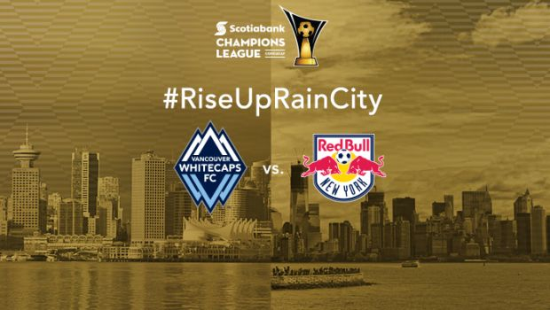 Whitecaps - Vancouver Football Club - named after the snowy mountains that are the backdrop of the city. Use # handle #RiseUpRainCity