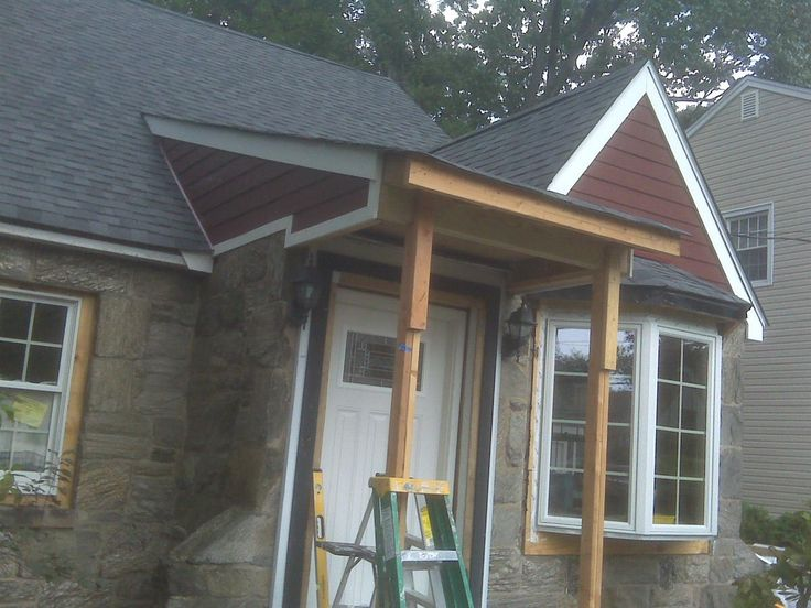 30 best images about stoops overhangs and pergolas on pinterest cap code diy pergola and for How to build a roof overhang over an exterior door