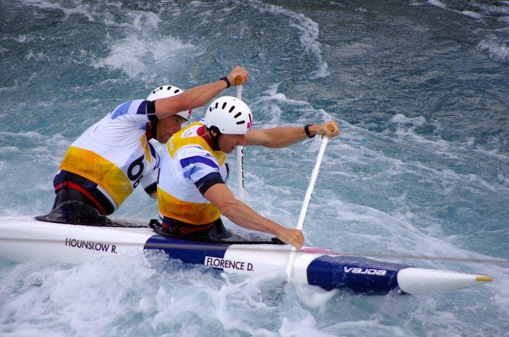 Slalom_canoeing_2012_Olympics_C2_GBR_David_Florence_and_Richard_Hounslow