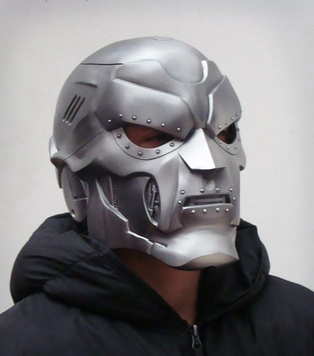 Dr Doom Mask From Peru Cosplay Doctor Doom Pinterest