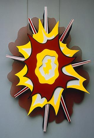 roy lichtenstein pop art explosions - Google Search