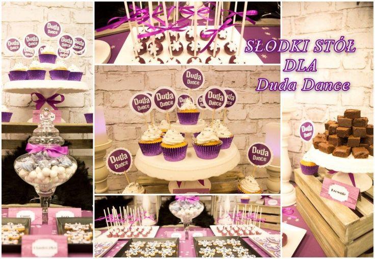 Słodki Stół na otwarcie Duda Dance / Candy Bar for Duda Dance school