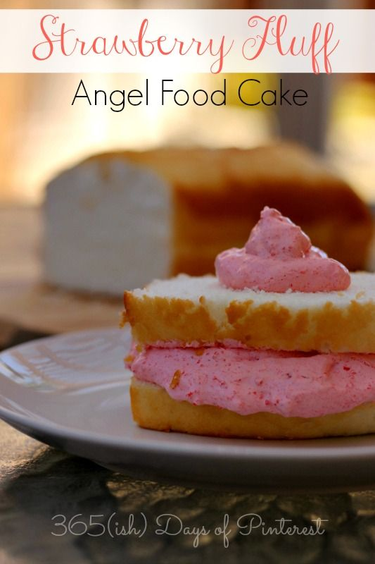 Recipe For Strawberry Fluff With Angel Food Cake