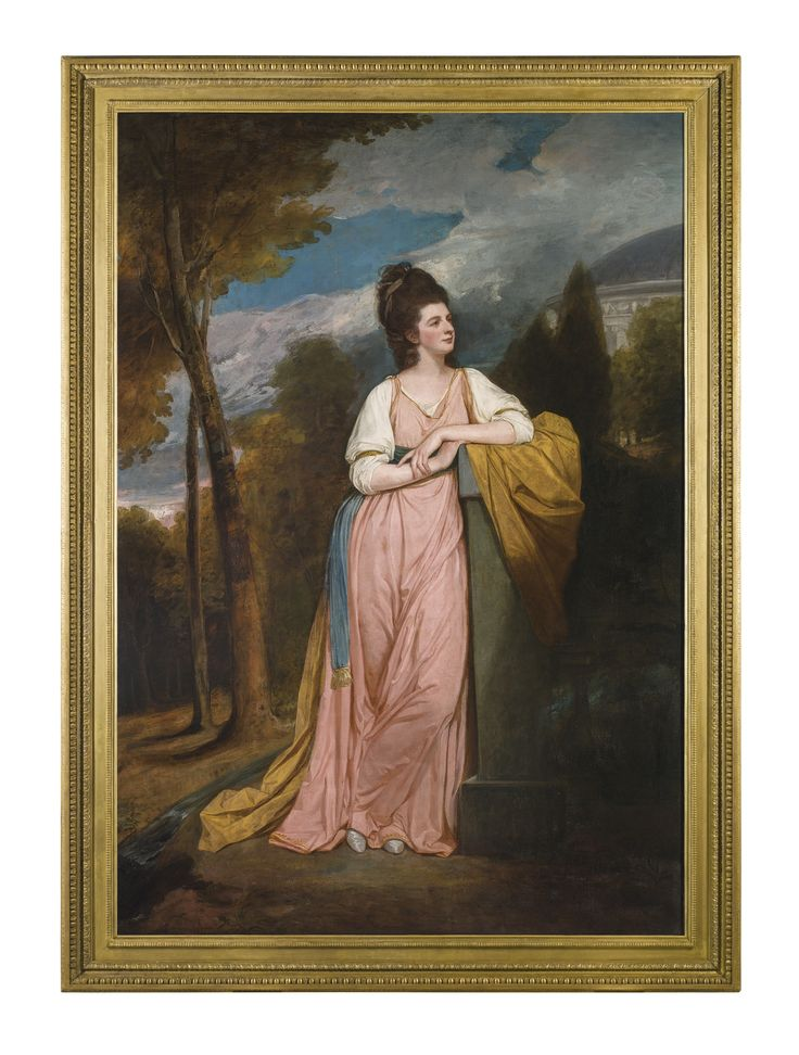 George Romney | Portrait of Lady Elizabeth Capell, Lady Monson (1755–1834), 1778