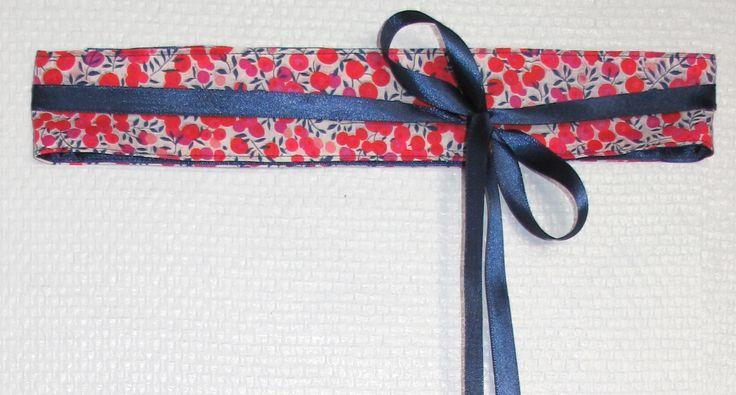 Simple, rapide et très tendance : ceinture à nouer. Tutoriel couture par Annika.