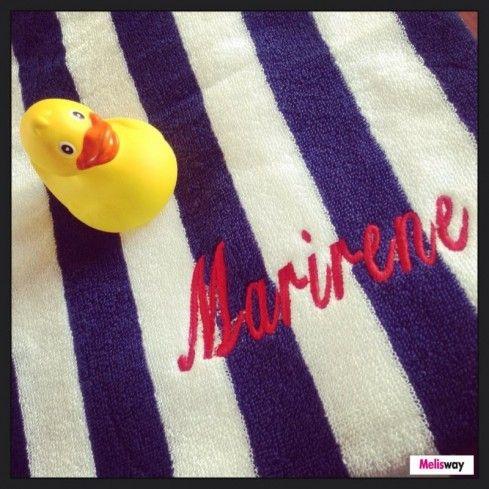 Μια πετσέτα για τη θάλασσα με το όνομά σας! Διαλέξτε σχέδιο!