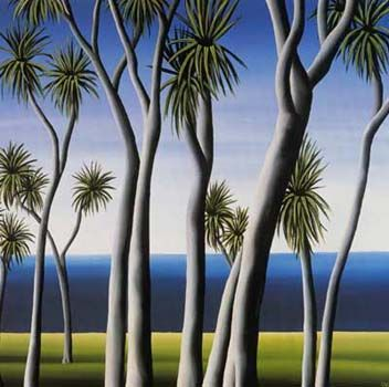Cabbage Tree by Diana Adams for Sale - New Zealand Art Prints