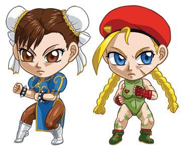 Street Fighter Set 2: Chun Li, Cammy by cosplayscramble.deviantart.com on @deviantART