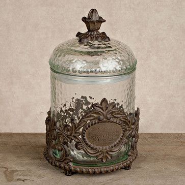 The GG Collection Griffen Treat Jar - eclectic - pet accessories - atlanta - Iron Accents