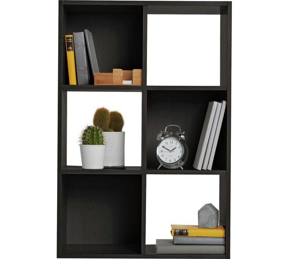 Buy HOME Squares 6 Cube Storage Unit - Black at Argos.co.uk, visit Argos.co.uk to shop online for Storage units, Storage, Home and garden