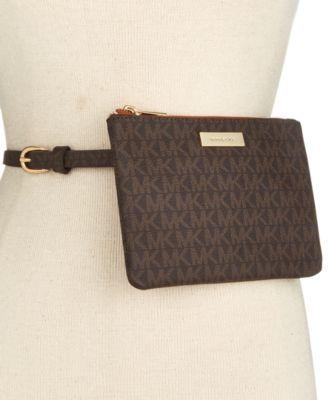 MICHAEL Michael Kors Signature Fanny Pack, A Macy's Exclusive Style | macys.com