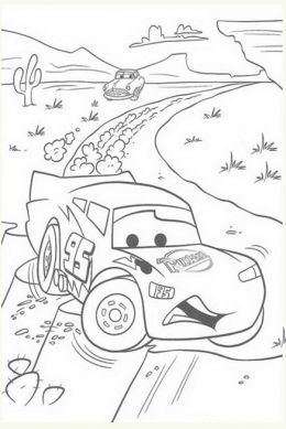 cars movie car and truck kids coloring pages to print and - Pictures To Print And Colour For Kids