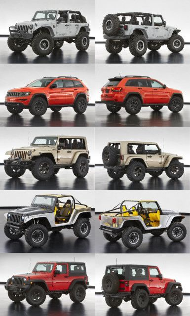 Jeep® Safari 2013 New Concept These are making waiting to get a new one harder and harder