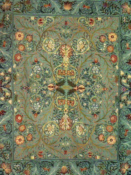 earwigbiscuits: 1880 William Morris ~Acanthus Wall Hangingby William Morris, via