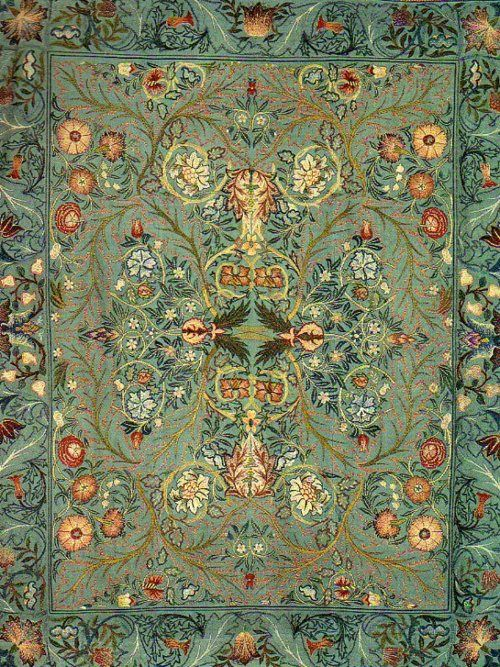 earwigbiscuits: 1880 William Morris ~ Acanthus Wall Hanging by William Morris, via