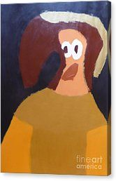 Canvas Print featuring the painting Portrait Of Marianna Of Austria 2015 - After Diego Velazquez by Patrick Francis