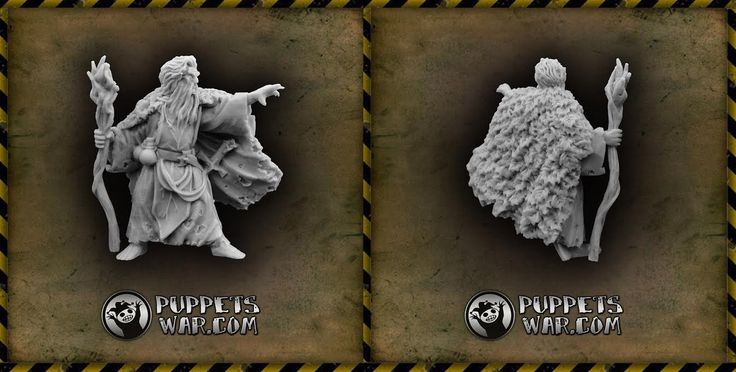 Tuesday so it is a new release day most likely. Yes, indeed.  Meet our new Druid miniature! https://puppetswar.eu/product.php?id_product=625 Do You like our new magic user?  #Druid #sorcerer #wizard #magic #wargaming #wargames #figure #game #fun #sculpt #28mm #scale #hobby