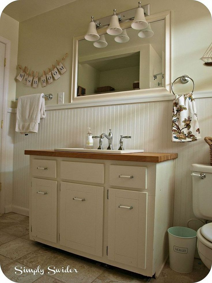 17 best images about cottage bath remodel on pinterest for Cottage bathroom ideas renovate