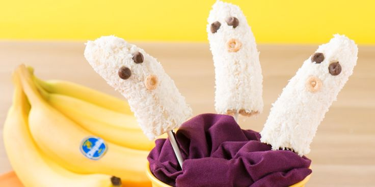 Serve these frighteningly easy banana pops as a delicious snack or ...