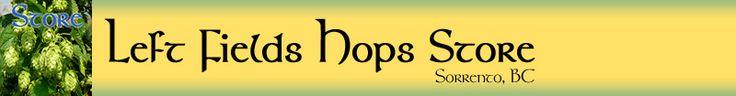 Left Fields Hops Store banner