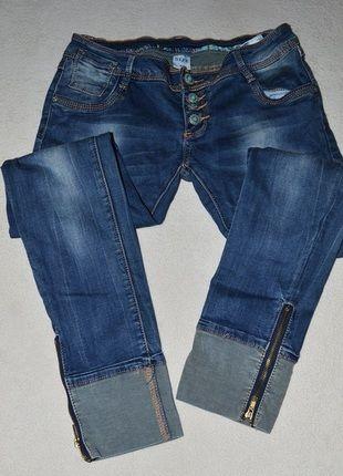Kup mój przedmiot na #vintedpl http://www.vinted.pl/damska-odziez/dzinsy/11029502-spodnie-dzinsowe-rurki-rozmiar-l