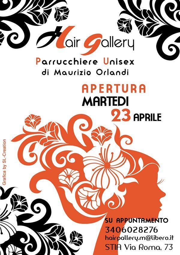 Flyer per Facebook  HAIR GALLEY - Negozio Parrucchiere Unisex