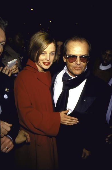 Rebecca Broussard and Jack Nicholson, 1991