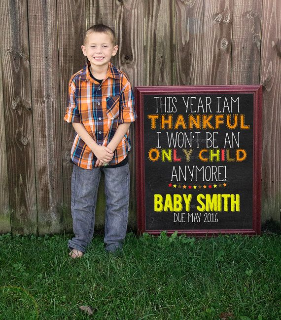 Best 25 Thanksgiving baby announcement ideas – Baby Announcement Picture Ideas