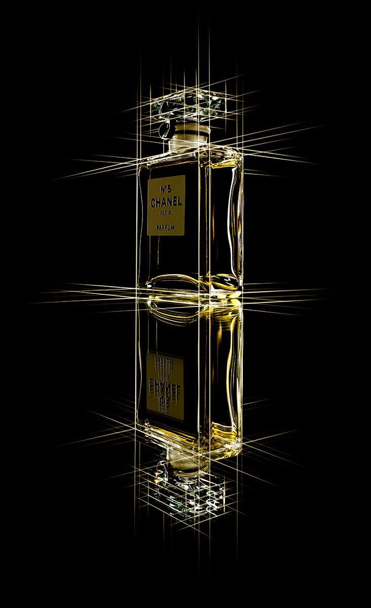 Chanel Bottle With Light Streak Edges - andygrimshaw.com