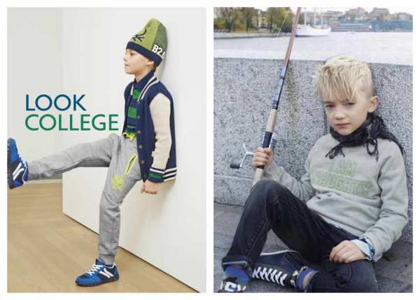 Benetton niños, moda invierno 2016