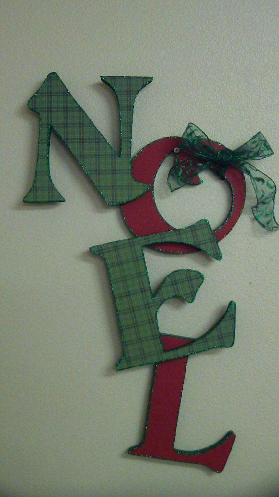 1000 images about noel wooden letters on