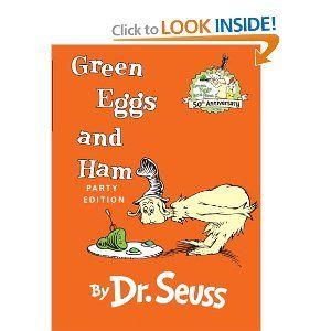 Dr. Seuss, Green Eggs and Ham